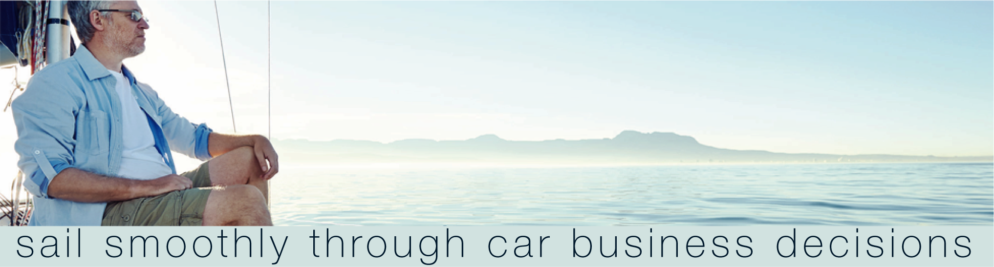 Banner: Sale smoothly through car business decisions